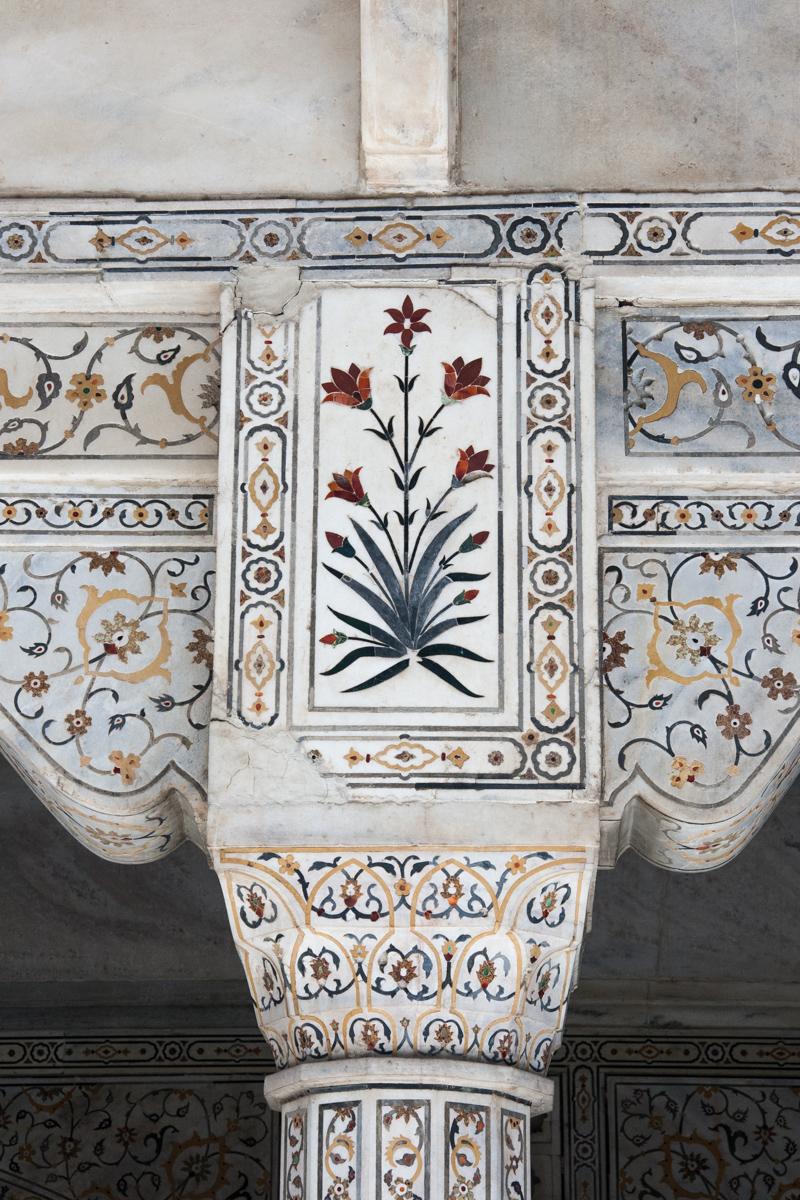 Pietra Dura Columns