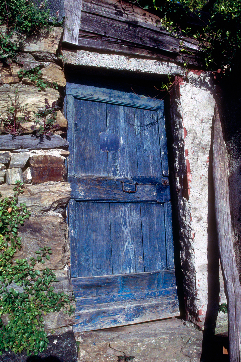 Blue Door on Trail