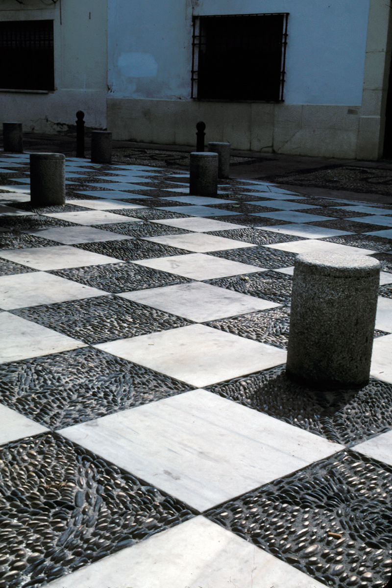 Checkerboard Courtyard