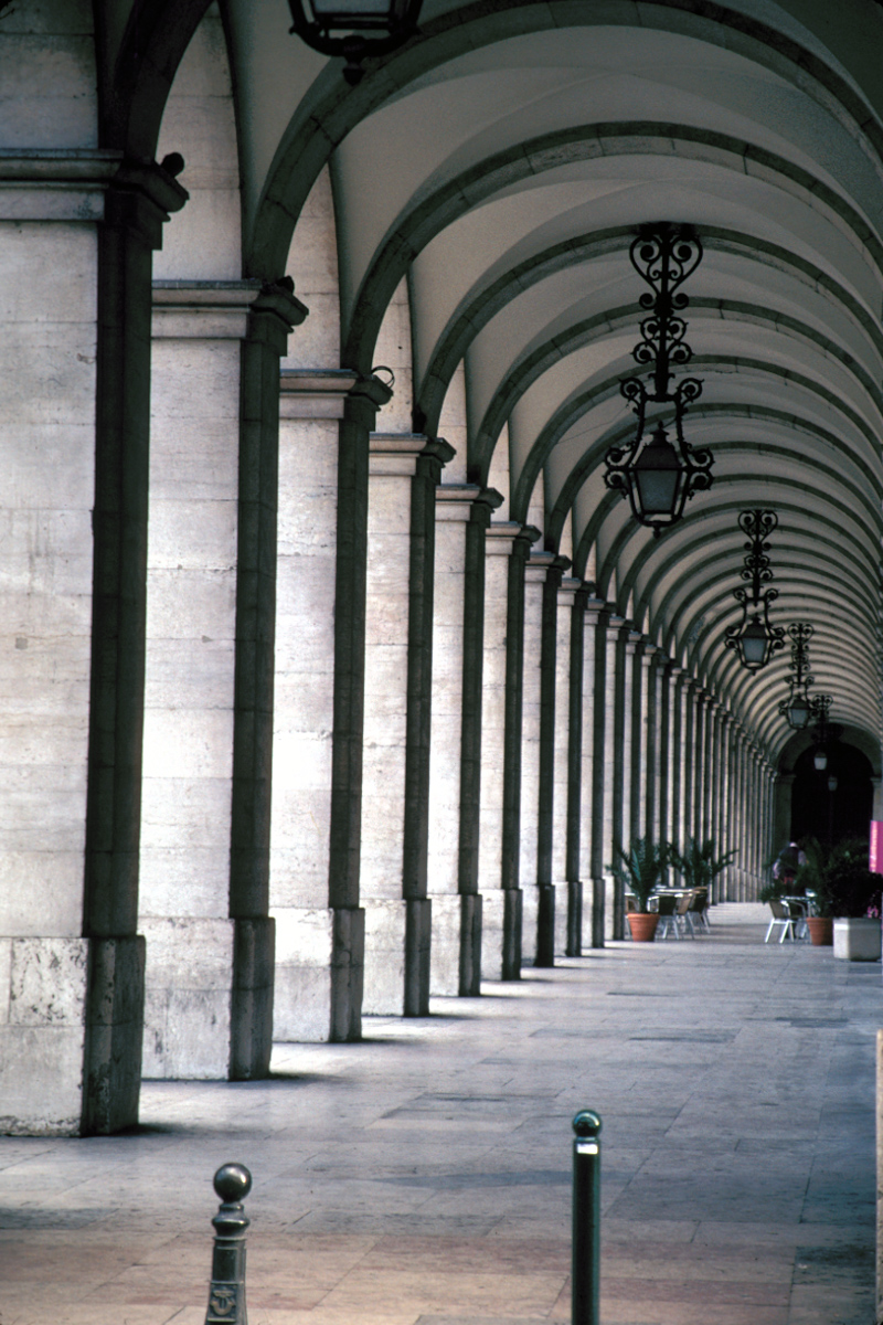 Hallway of Arches