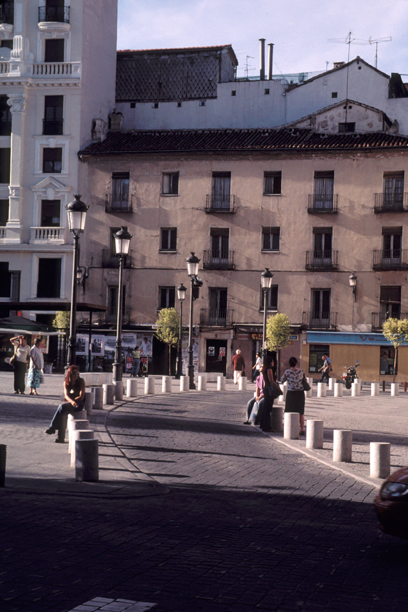 Late Afternoon Plaza