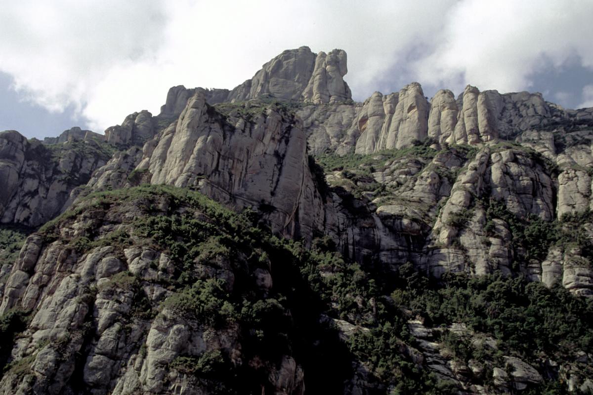 Montserrat from Below