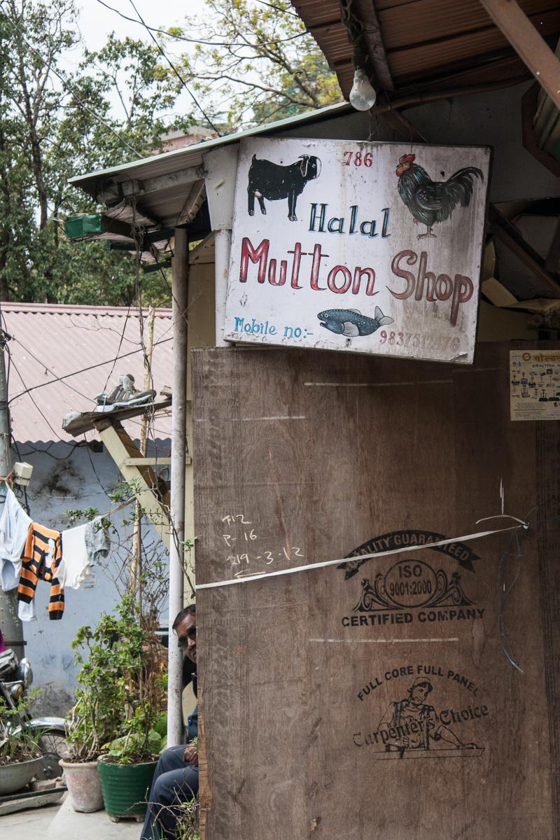 Halal Mutton Shop