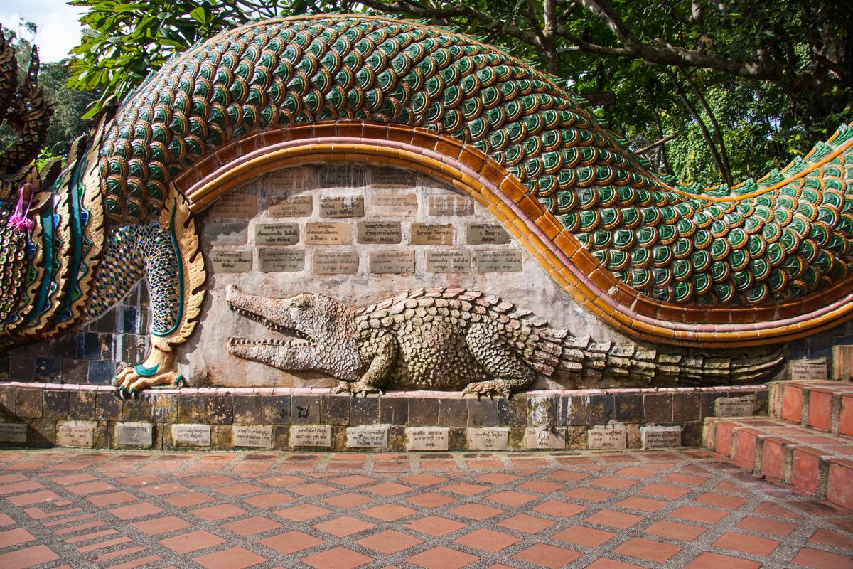 Naga's Belly and Crocodile