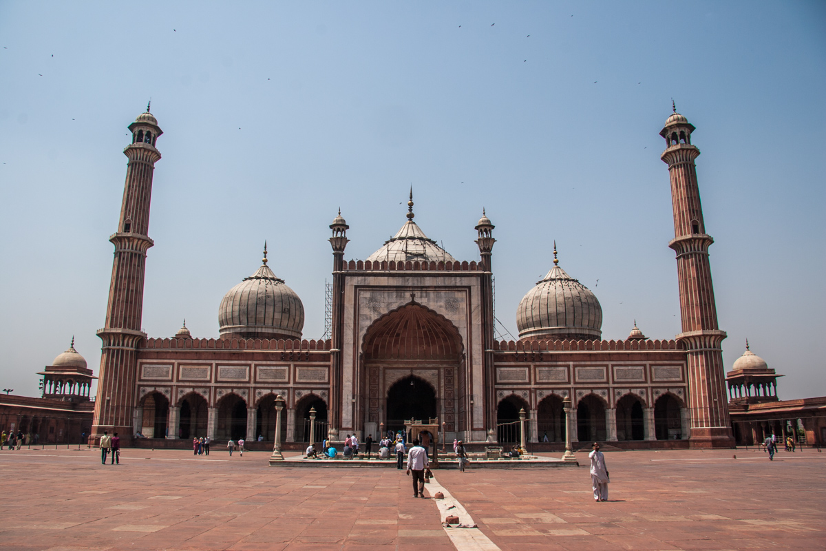 Wide View of the Jama Masjid