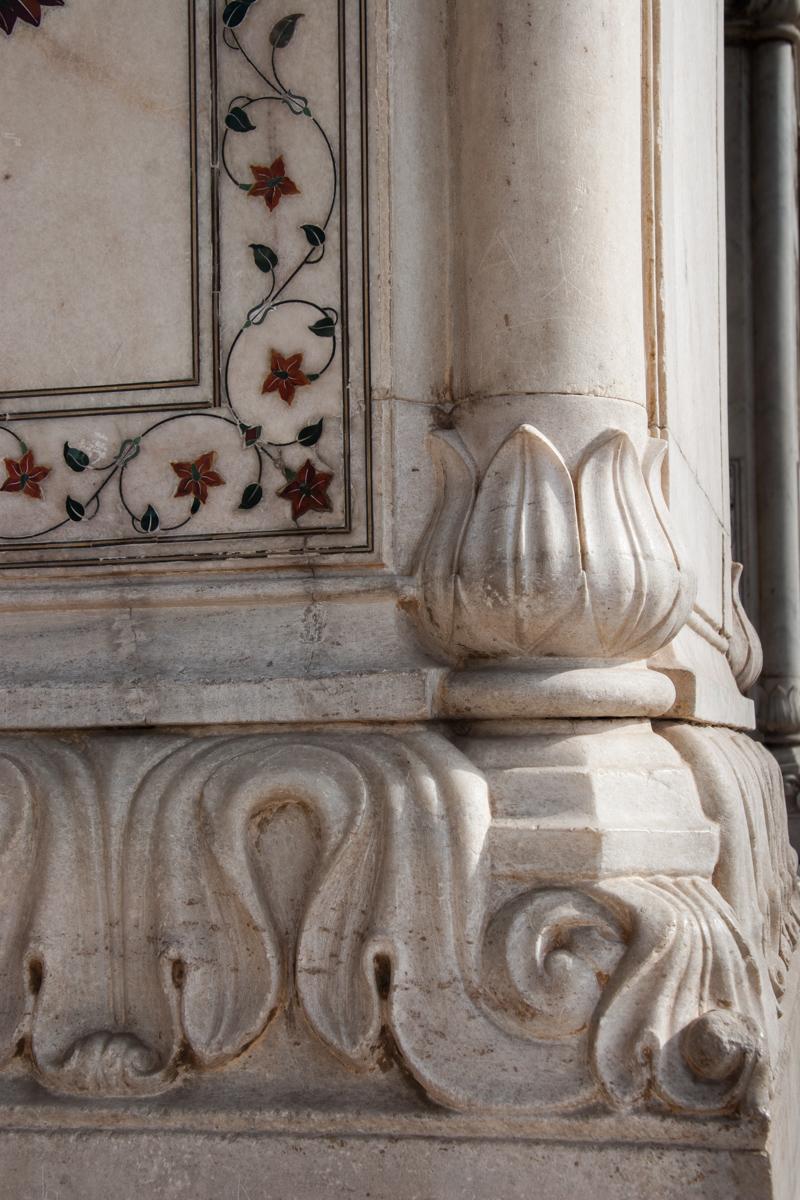 Corner Pillar Detail