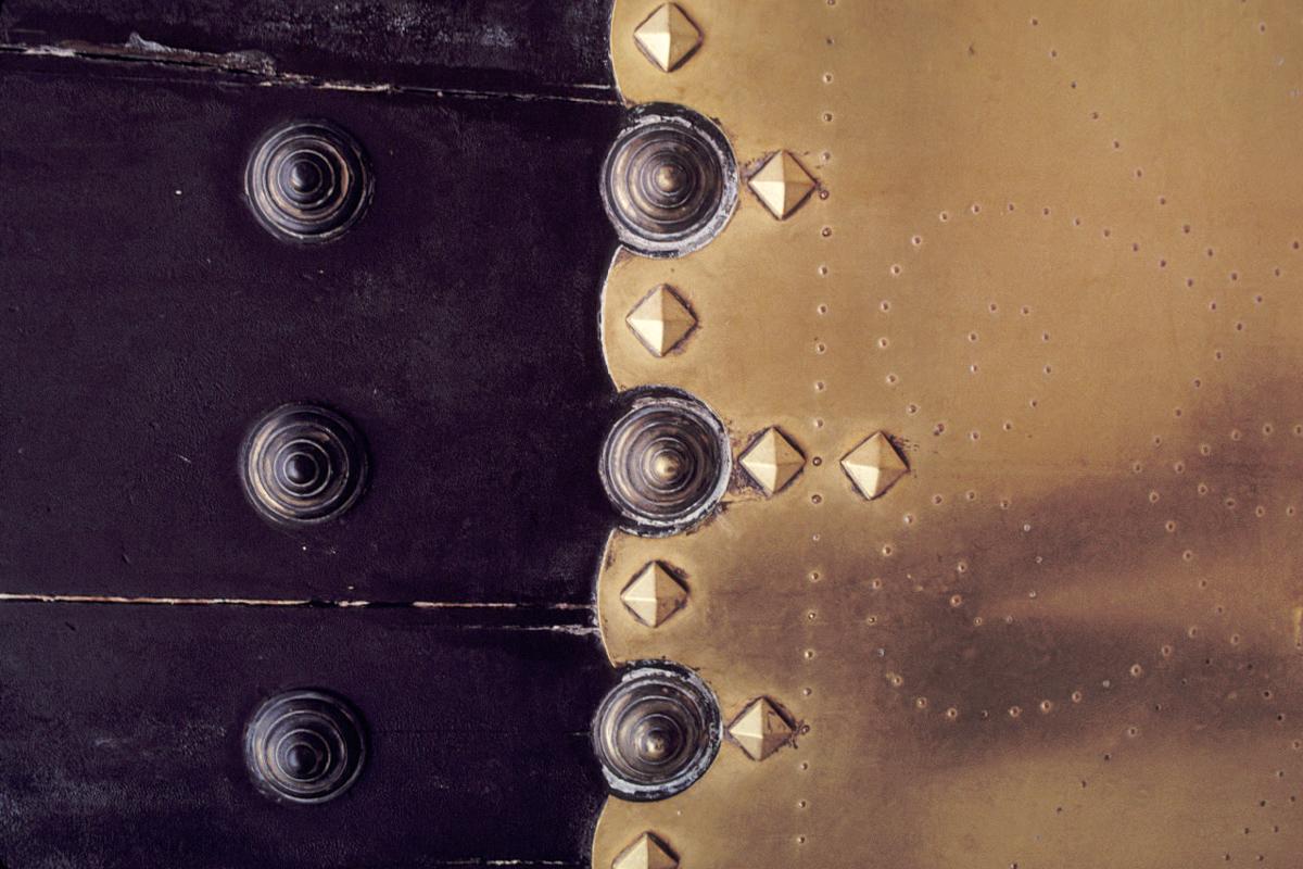 Brass Hinge 1