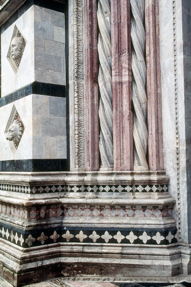 Siena Cathedral Twisted Marble