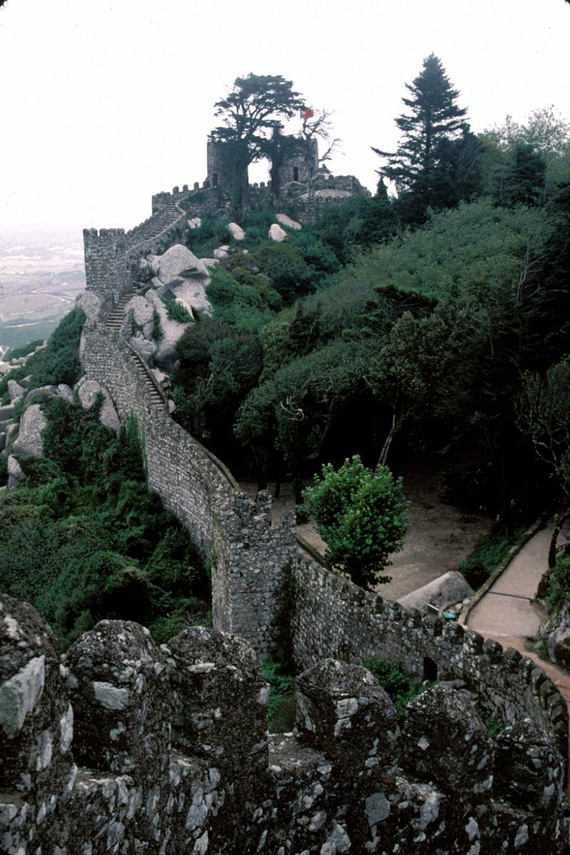 Along the Castle Walls
