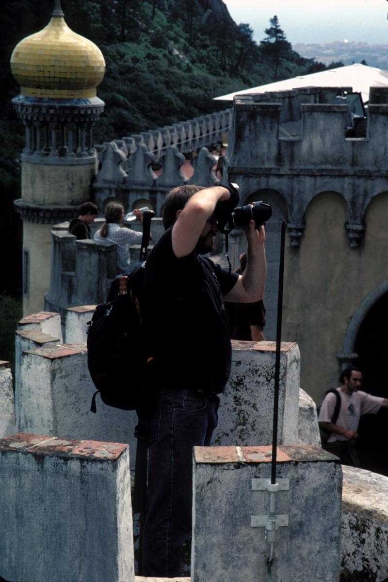 Dan in a Turret