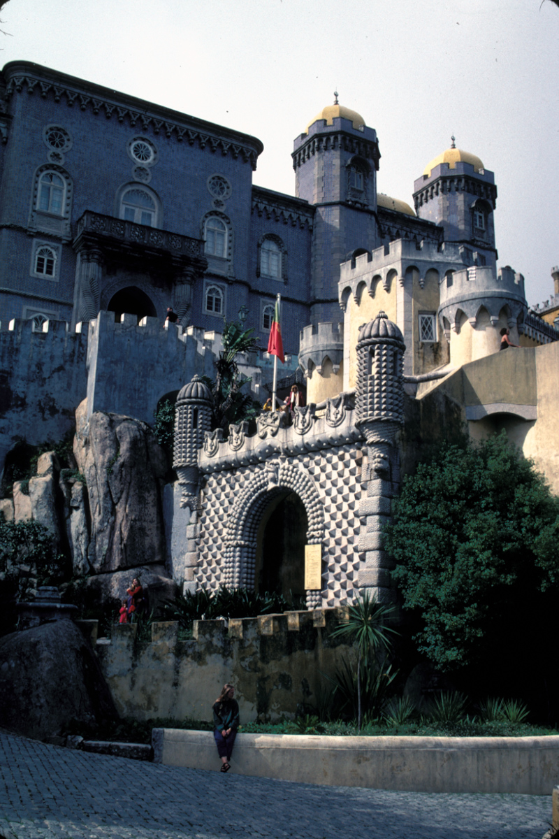 Pena Palace Entry