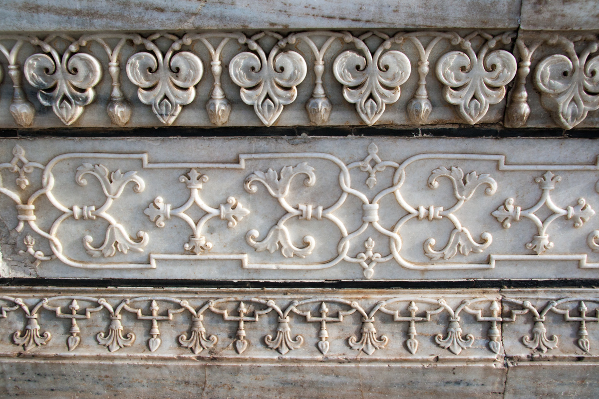 Carved Marble Decoration