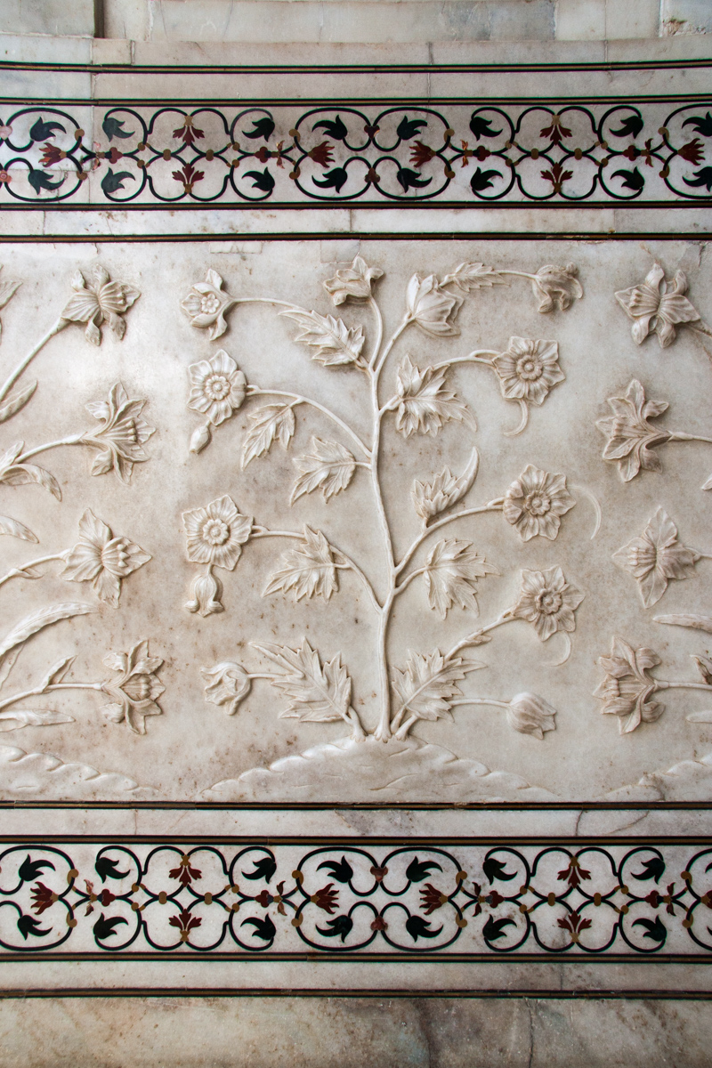 Bas Relief Panel with Borders