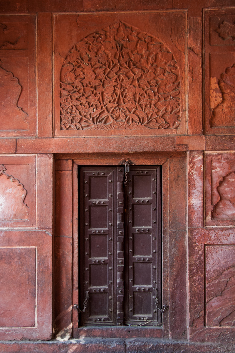 Panelled Door and Arabesque Panel