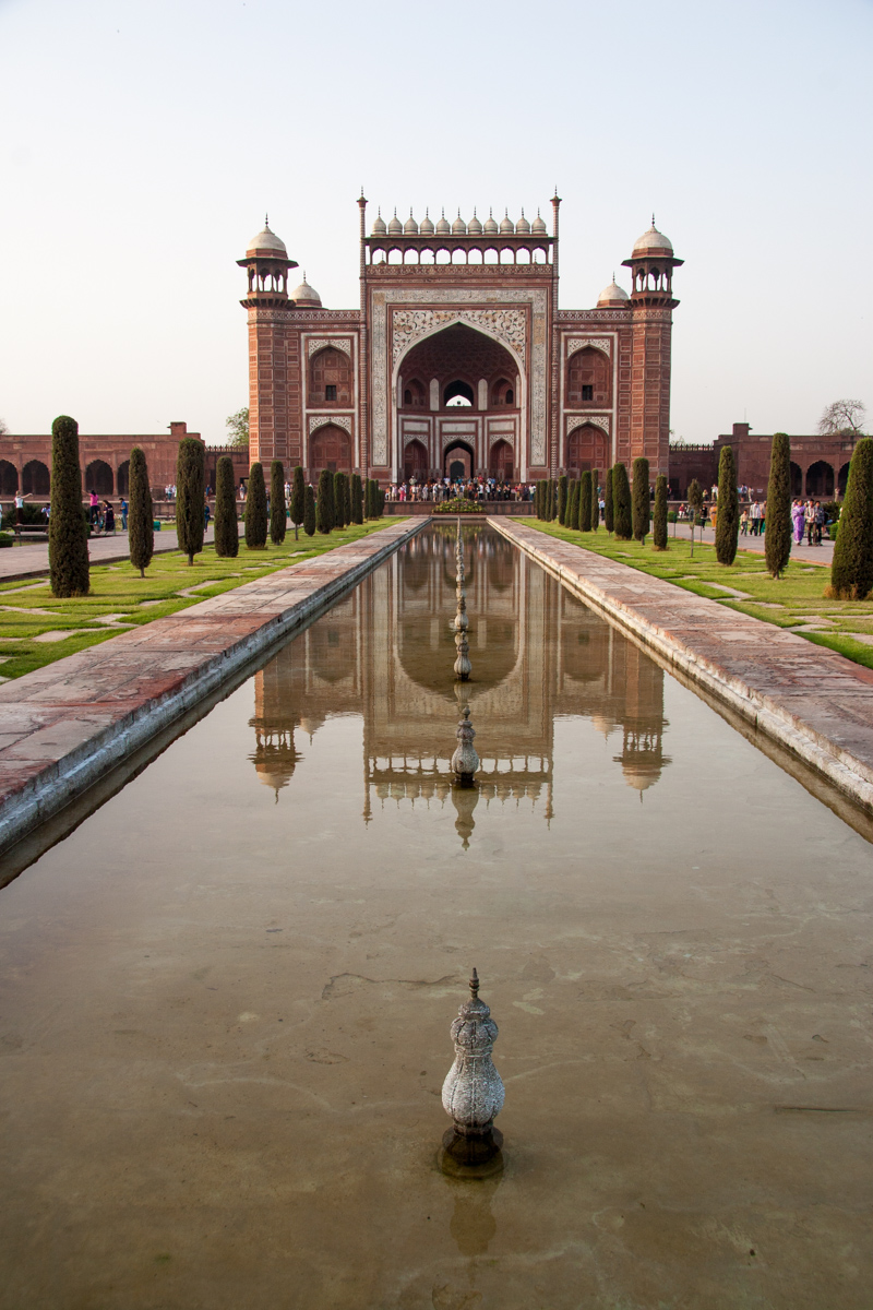 Main Gate and Reflection