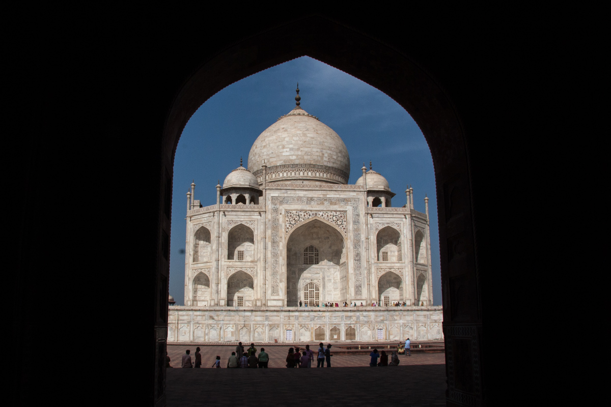 Eastern View of the Taj Mahal