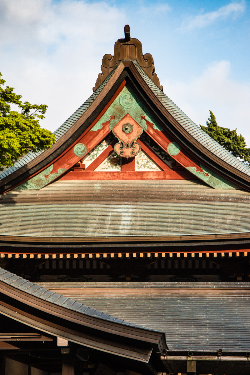 Decorated Roof Peak