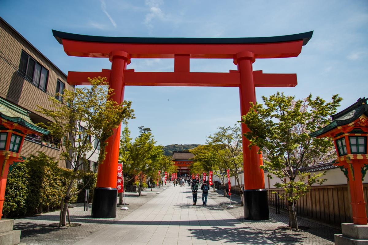 Main Entrance to Fushimi-Inari Taisha