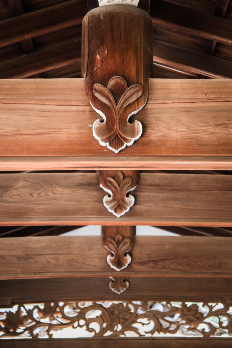 Carved Beam Details
