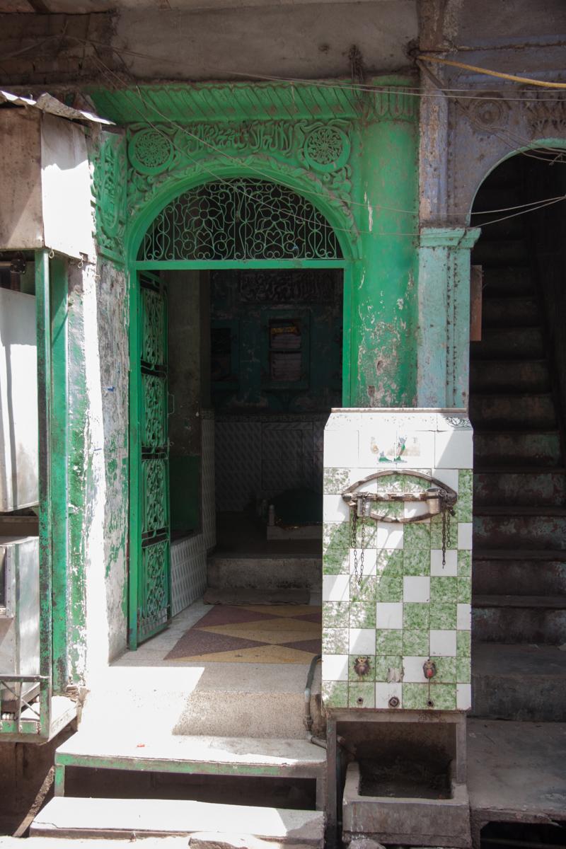Old Delhi Market Doorway