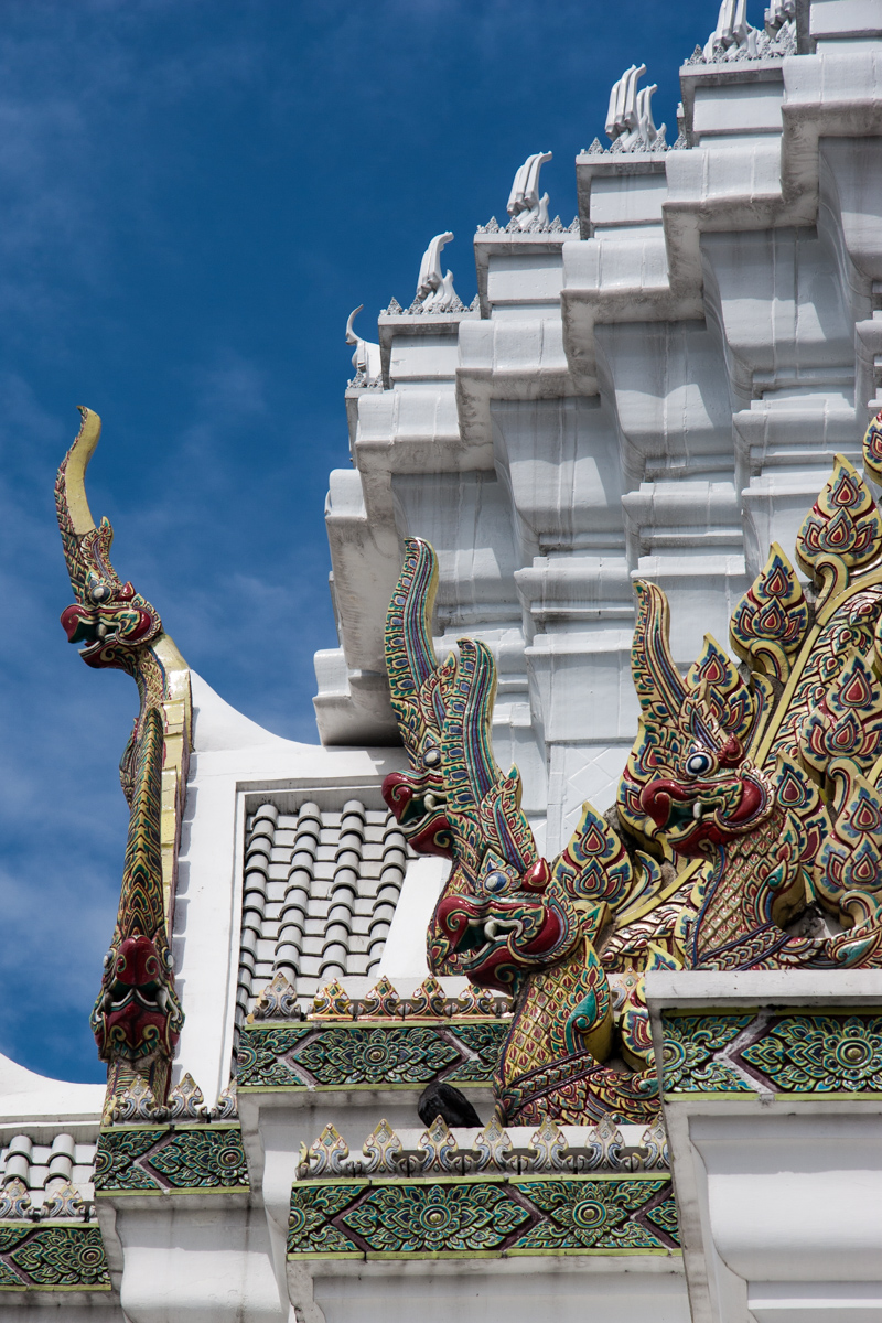 White Roof and Tiled Nagas