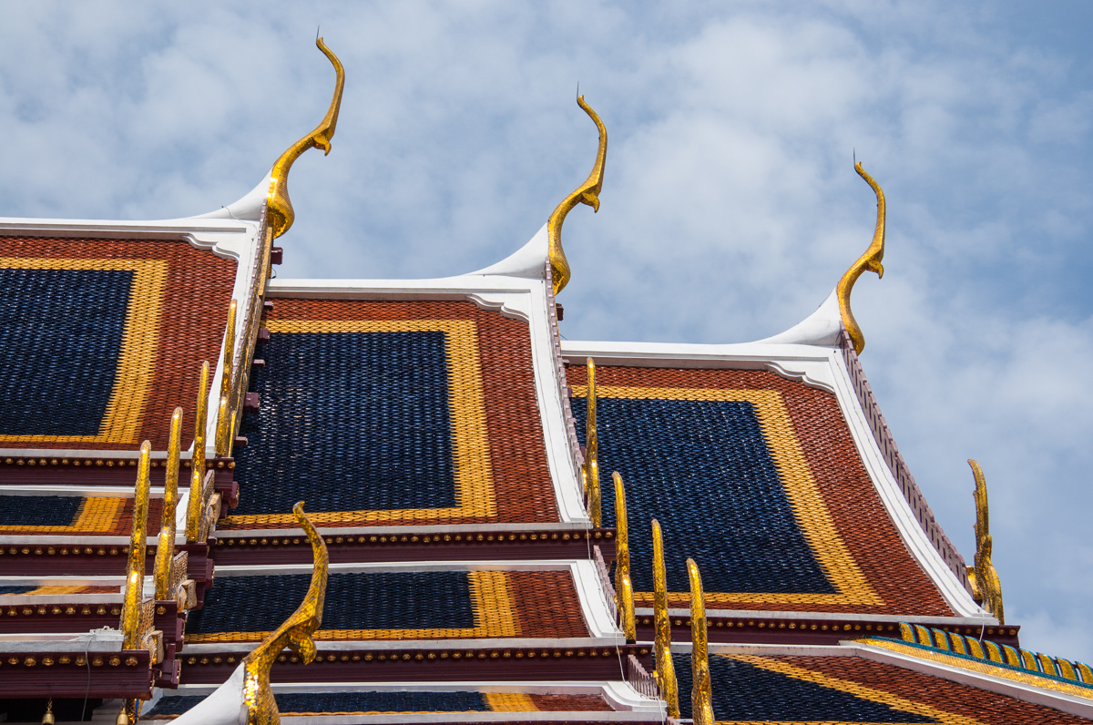 Tiled Roofs with Sleek Nagas