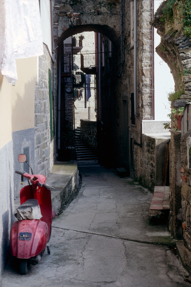 Alley with Scooter