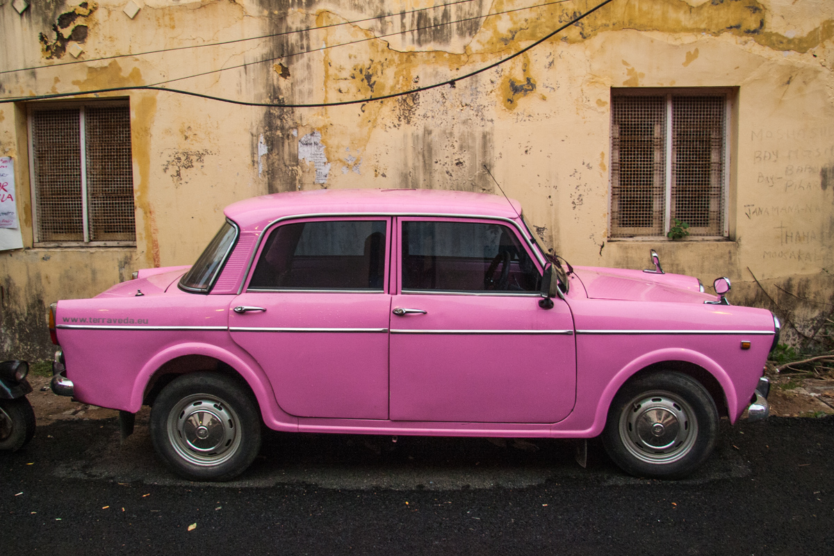 Pink Taxicab