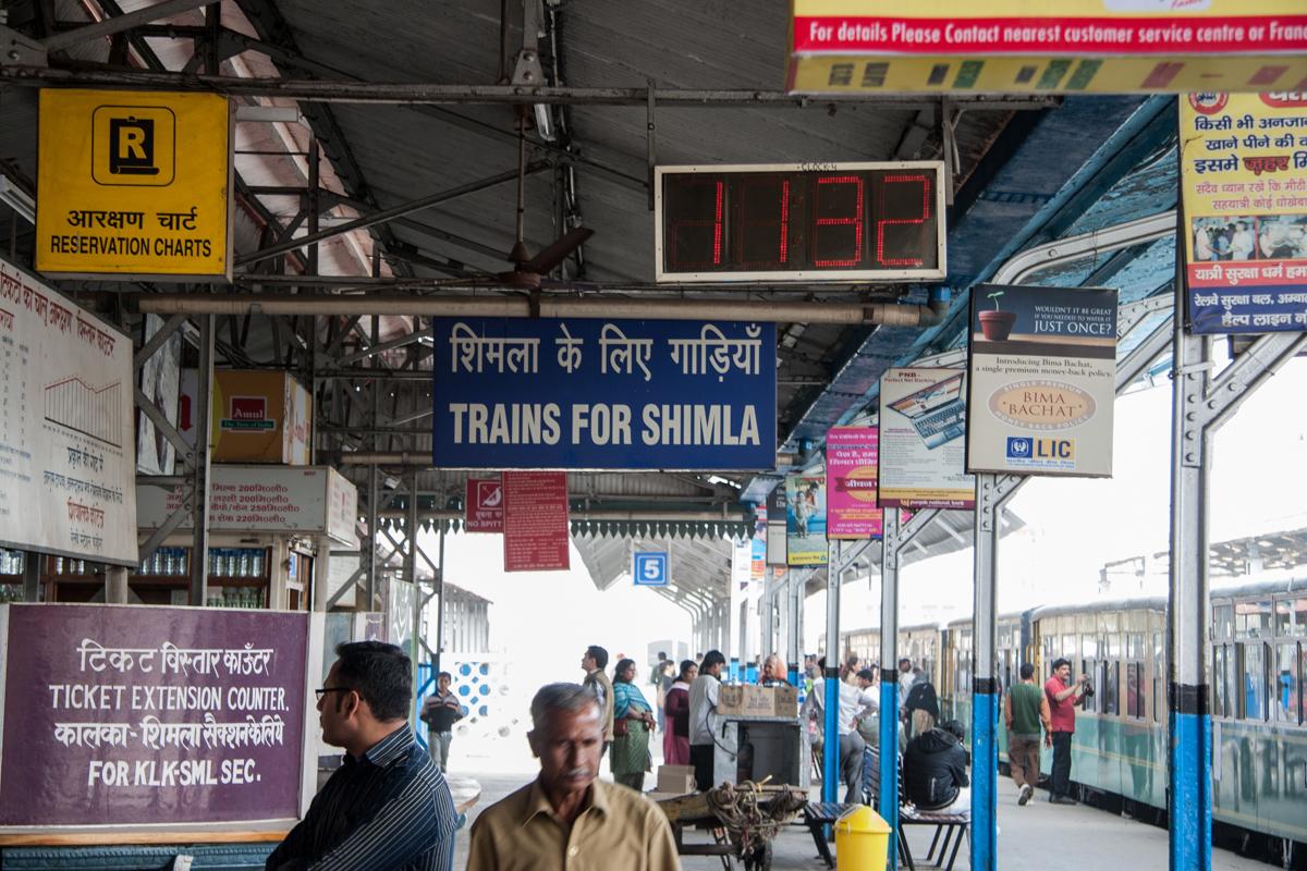 Trains for Shimla