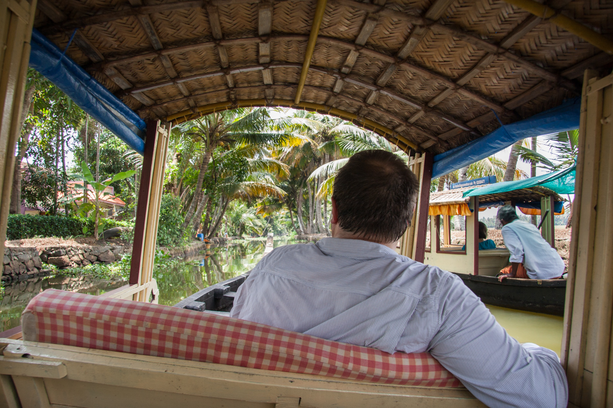 Dan on the Canoe