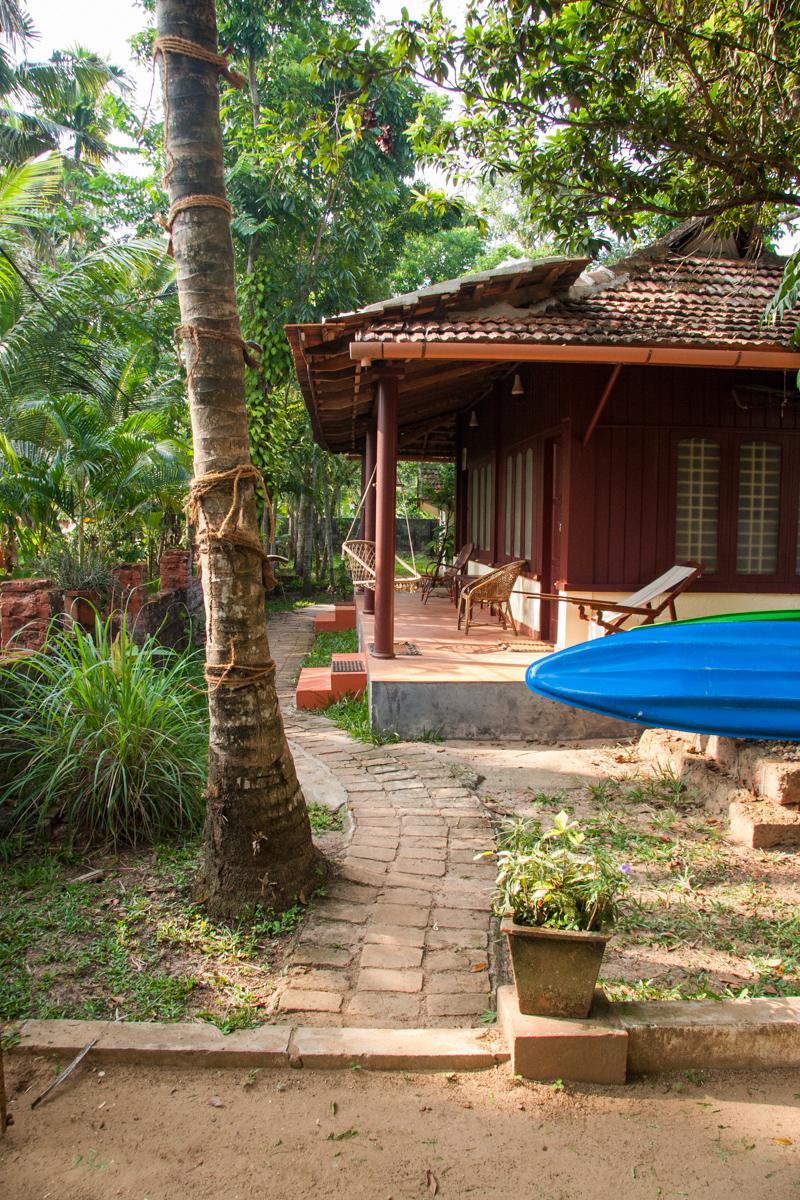 Cottage and Kayak