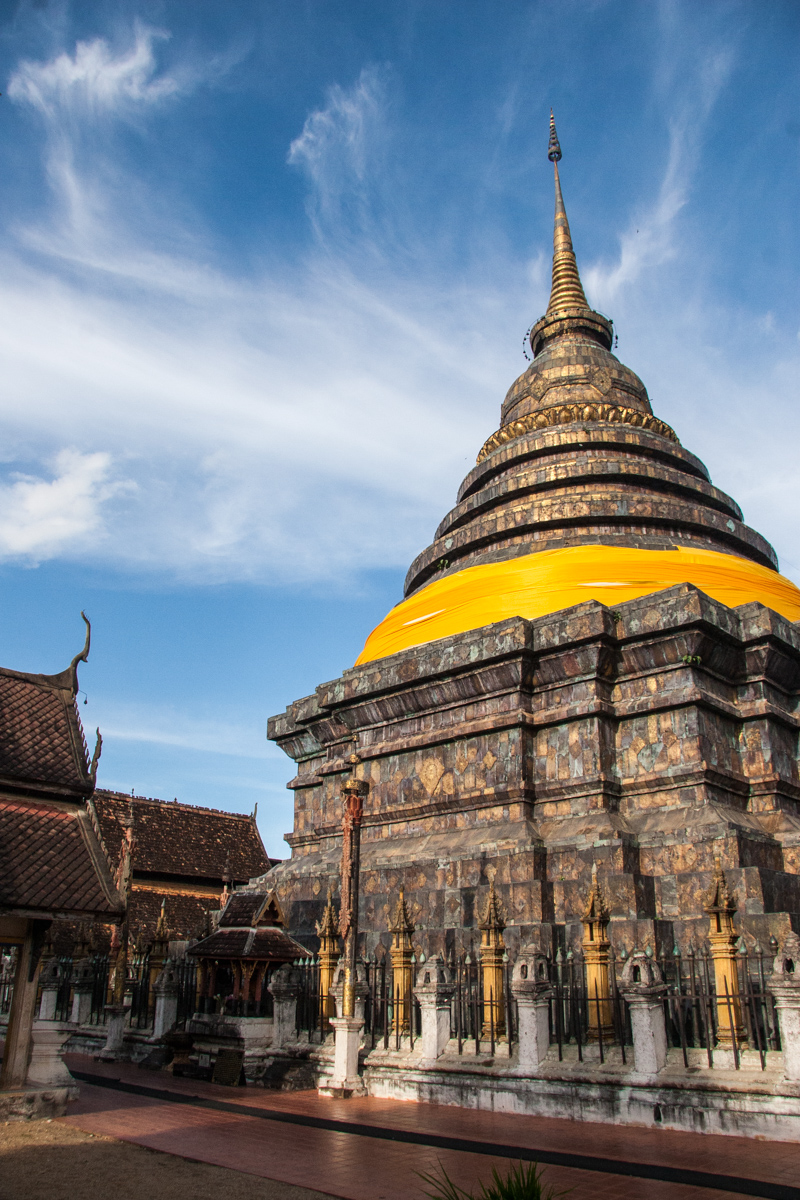Chedi in Late Afternoon Light