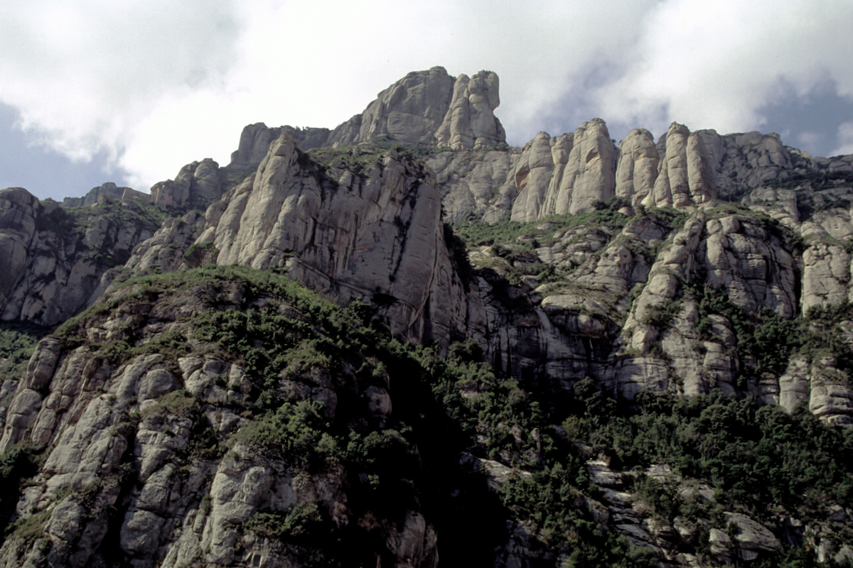 Montserrat from Below