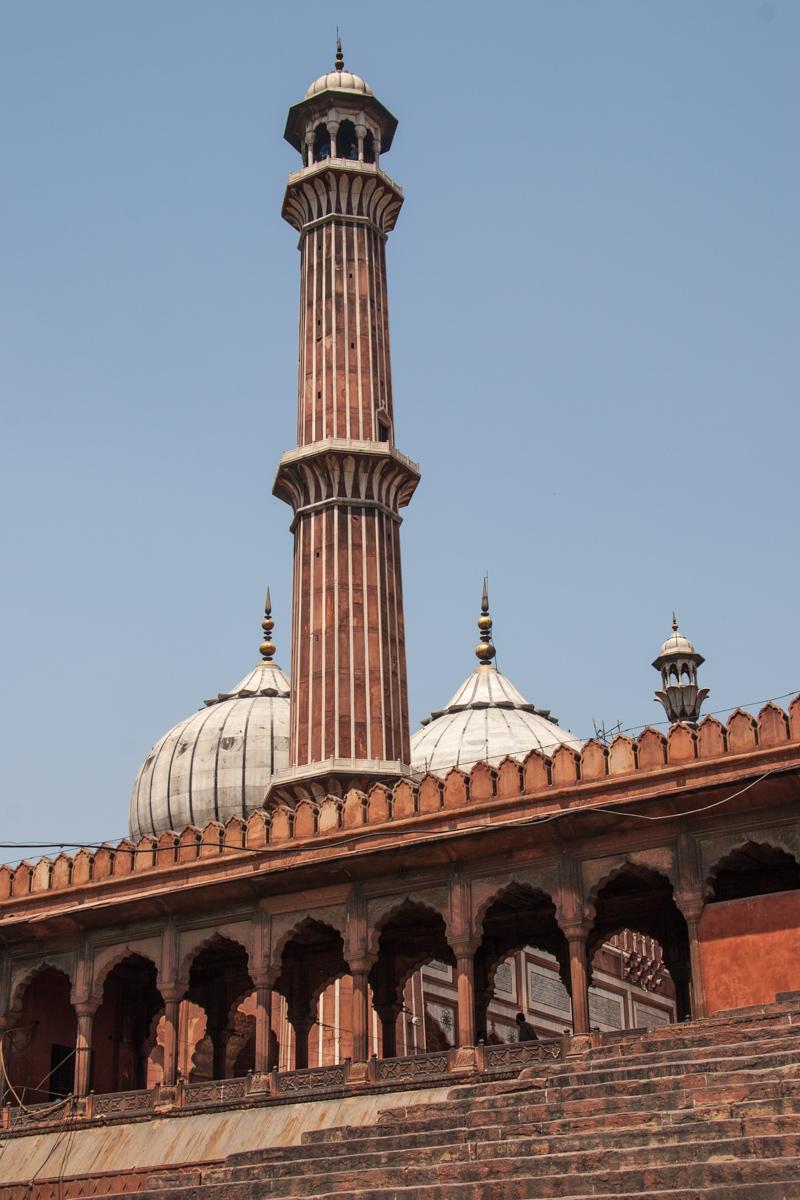 Minaret and Steps