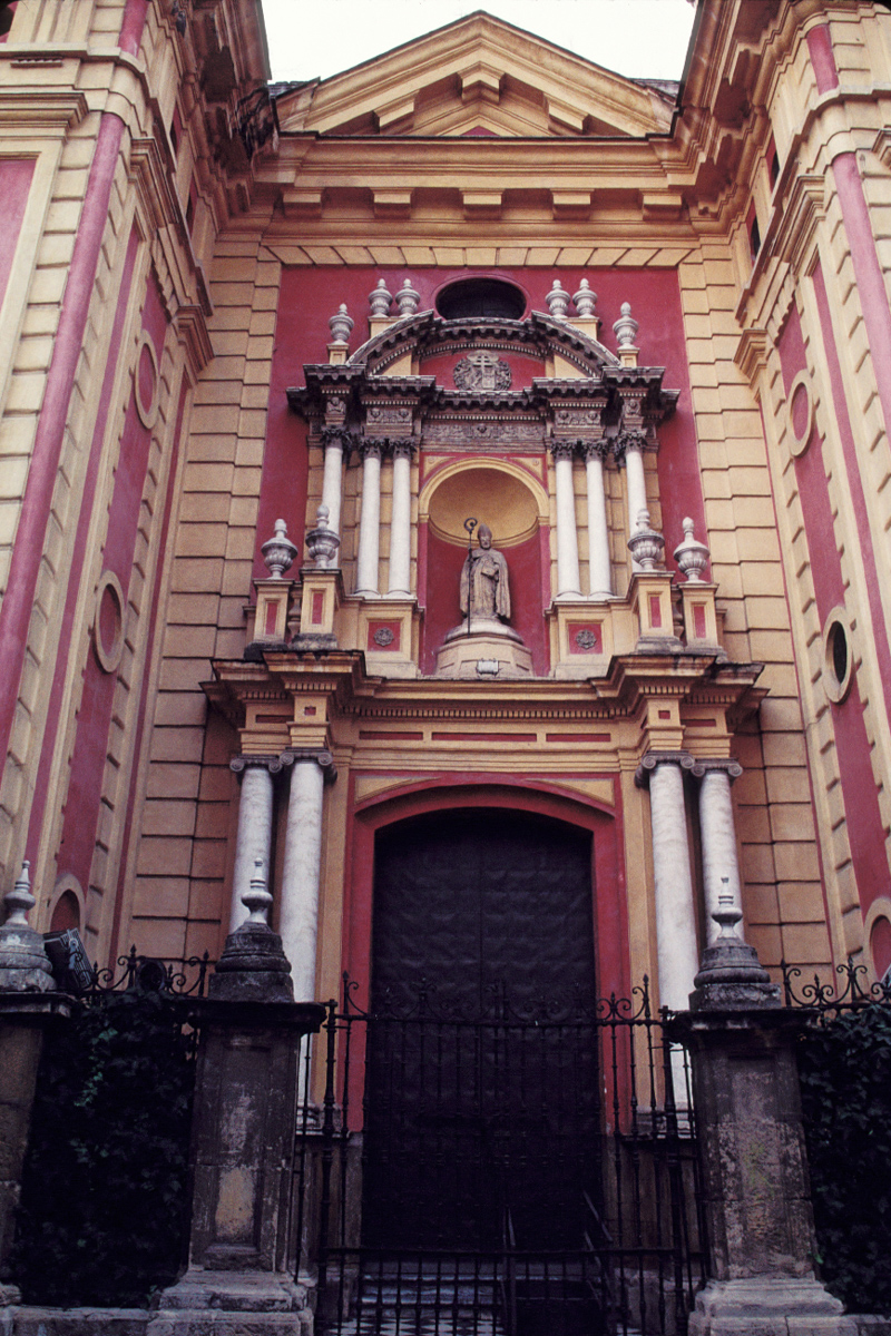 Red and Gold Facade
