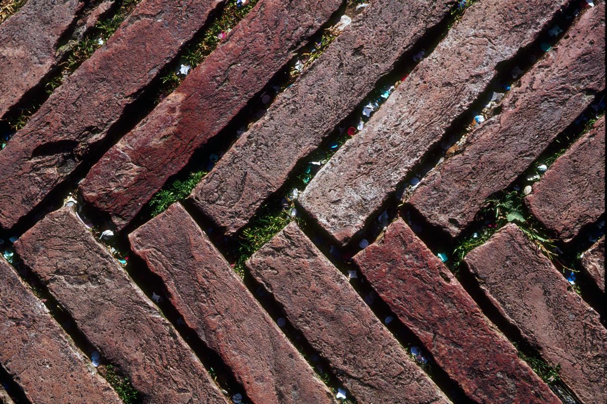 Herringbone Paving Stones