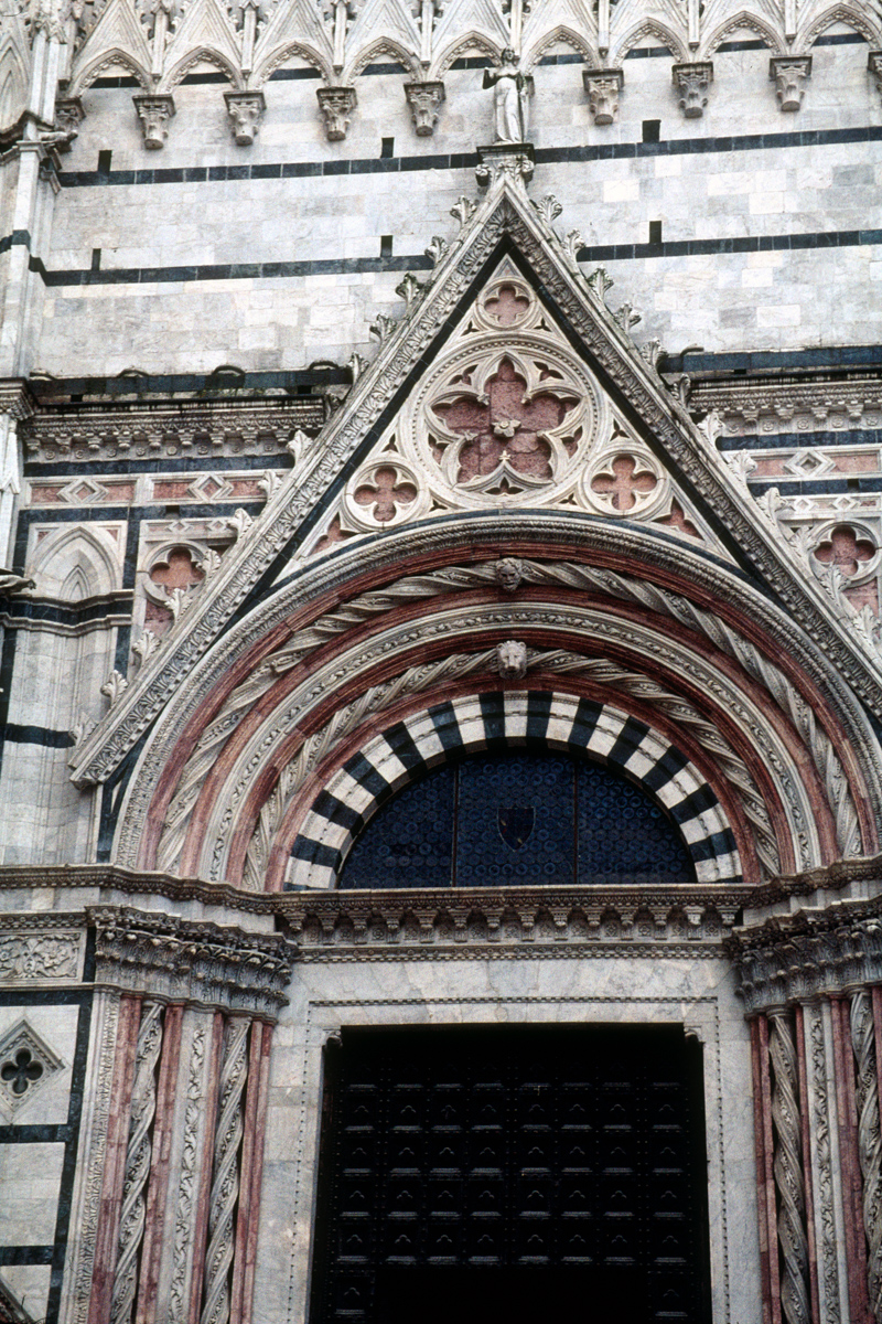 Siena Cathedral Pointed Arch 1