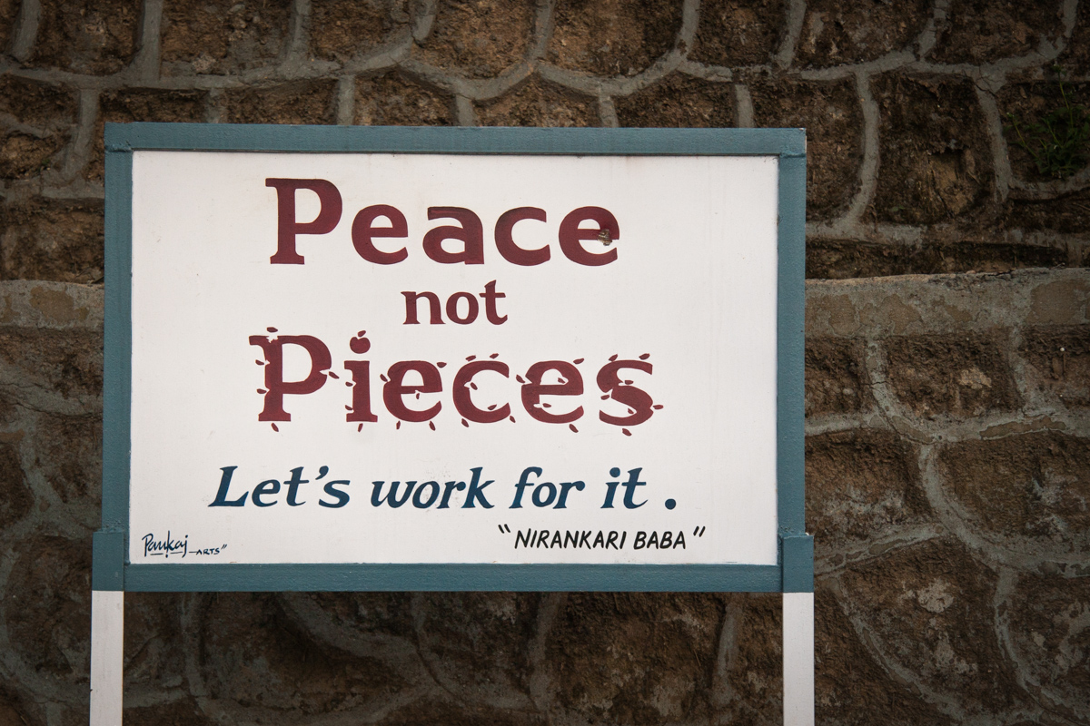 Peace Not Pieces