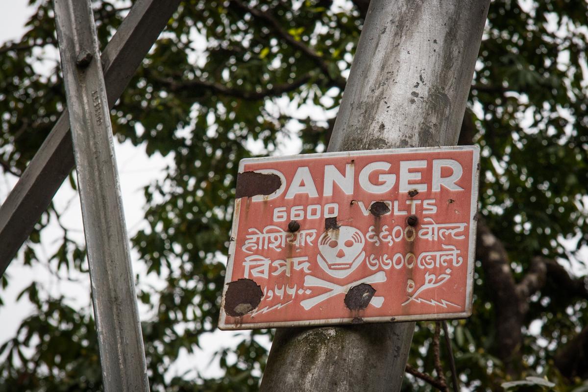 Danger 6600 Volts