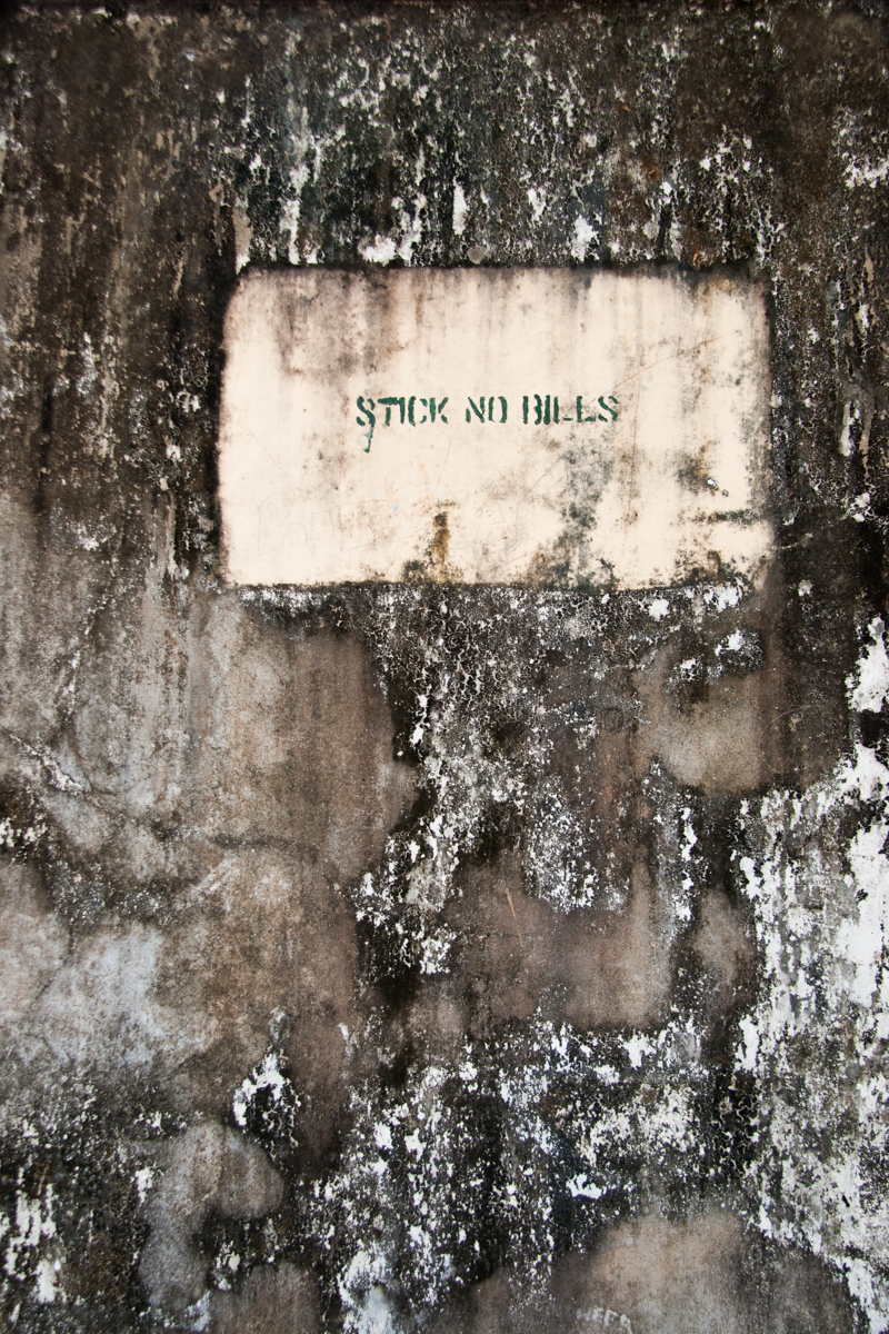 Stick No Bills