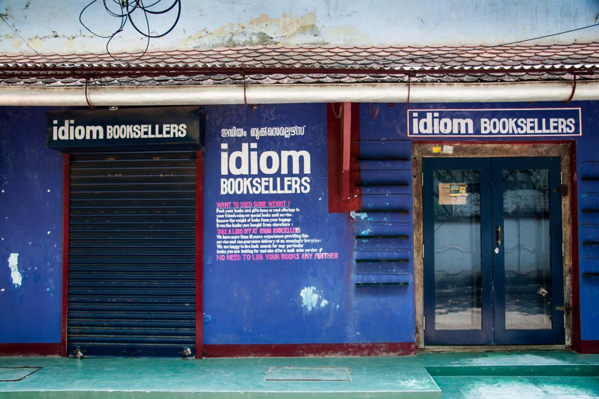 Bookshop Entrance
