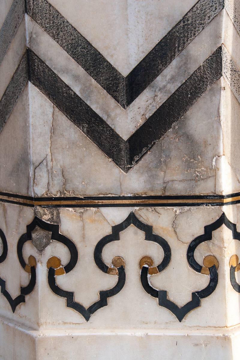 Chevrons and Scrollwork