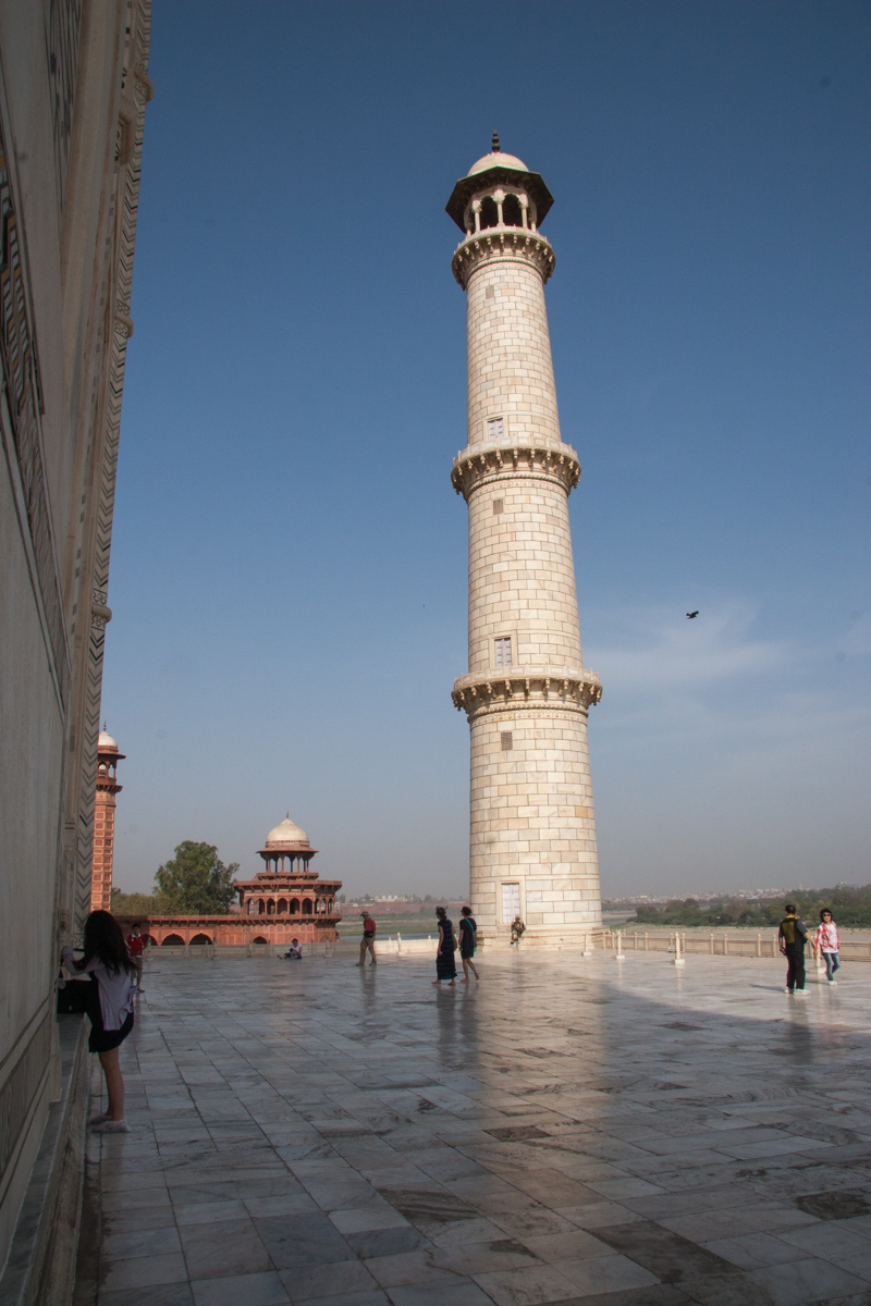 Minaret Over the River