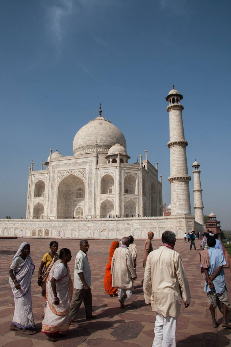 Taj Mahal from the Northeast Corner