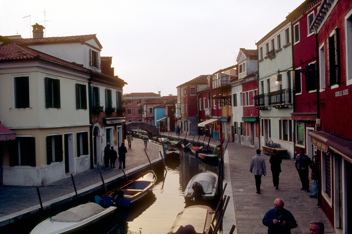 Burano Canal at Twilight