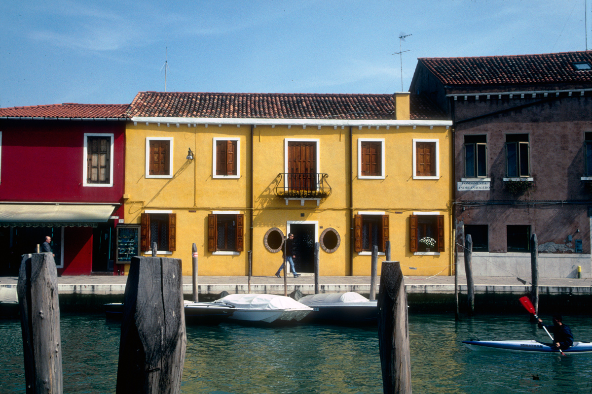 Yellow House on Canal