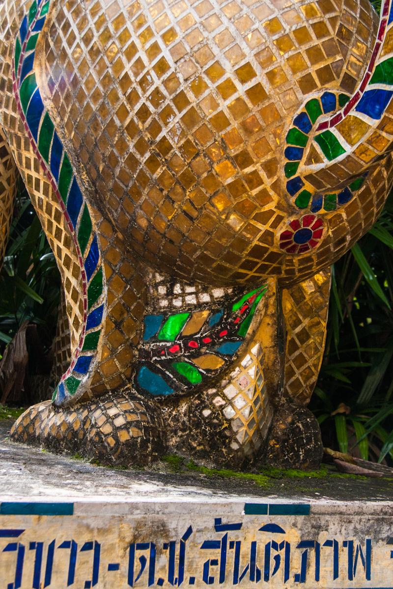 Mosaic Dragon Bum