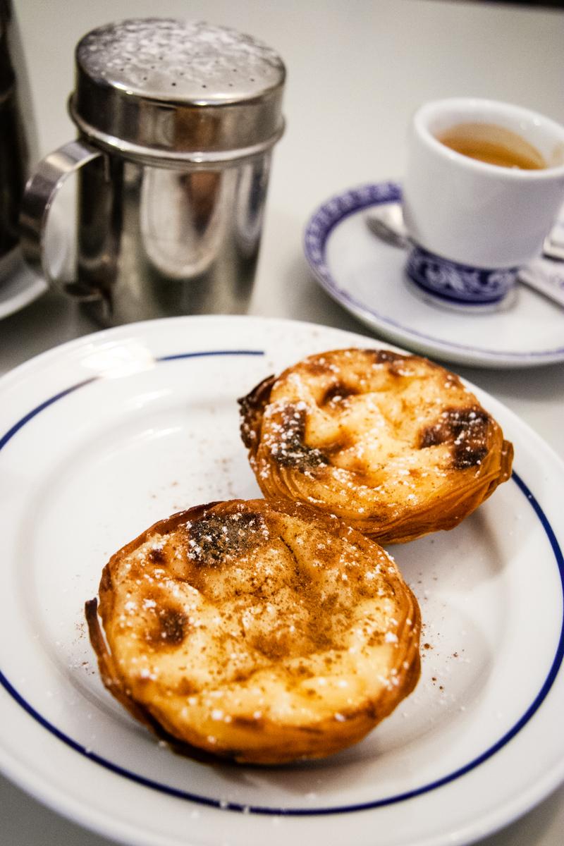 Pastéis de Belém and Coffee