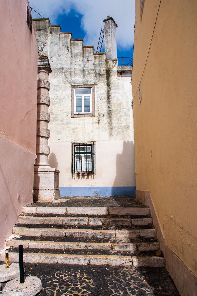 Blue Sky, Pastel Alley