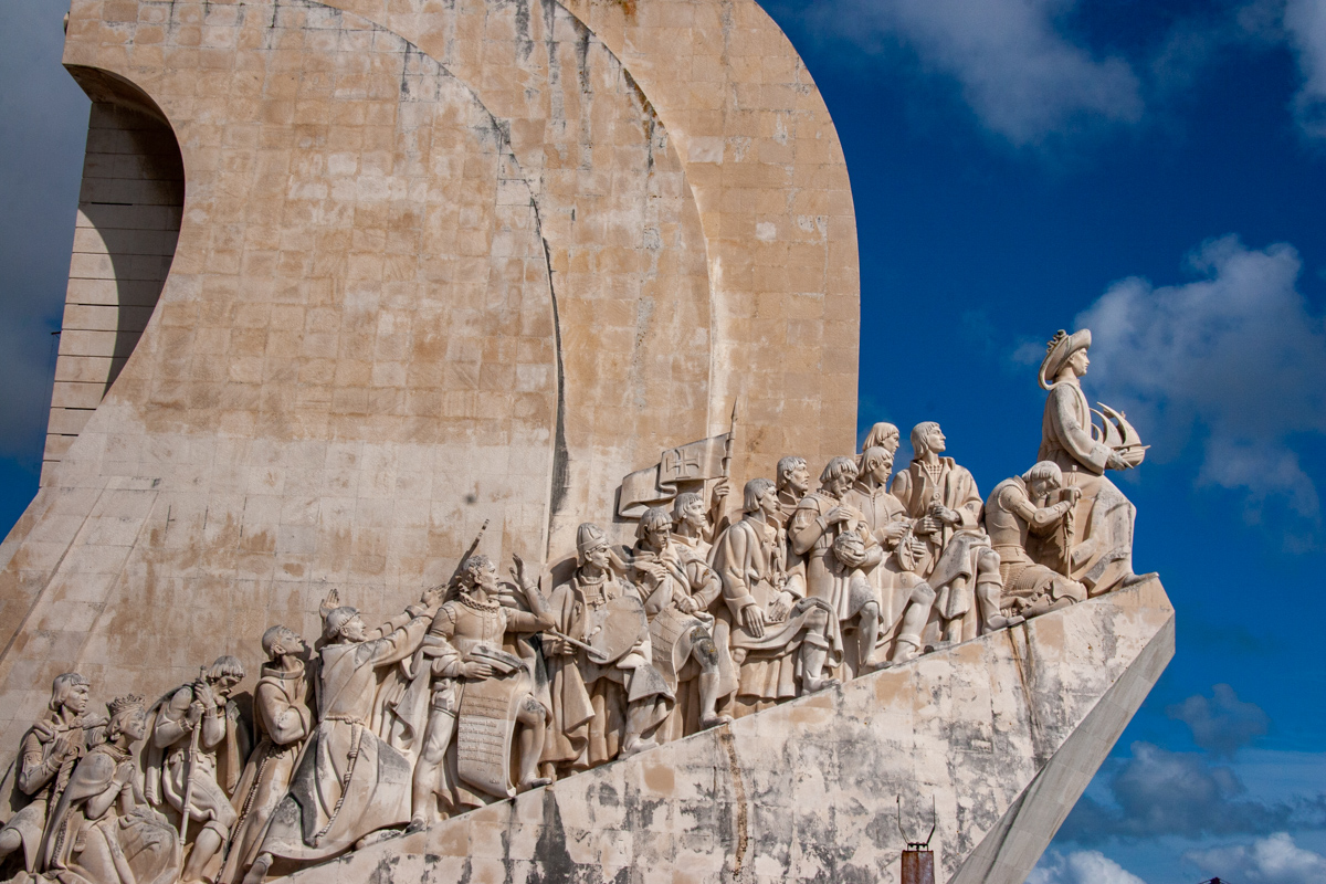 Detail of the Monument of Discoveries